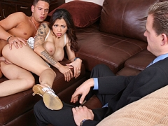 Adrenalynn and her husband\'s friend Jon has just came home from his prison sentence. John took the rap for Adrenalynn and went to prison for almost four years!!Jon is definitely a good man for doing that and they owe him their lives!For time being though Adrenalynn offers up something he\'s definitely missed while being gone...sweet pussy!!video